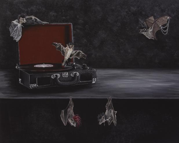 Batcave - Signed Print