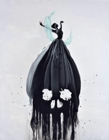 dancer, Black Abbey Studios, Goth, Gothic, Death, Skull, Danse Macabre