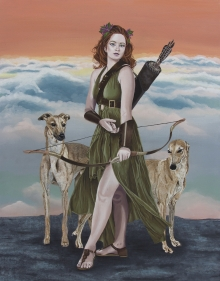 Diana - Original Painting