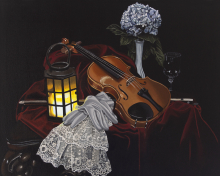 The Vampire's Violin - Original Artwork